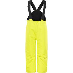 Color Kids Runderland Pantalones acolchados Niños, neon yellow
